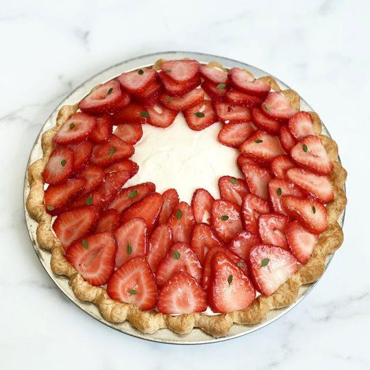 DAB Pie Night 2020 Strawberry, Guava, & Fior di Latte Pie