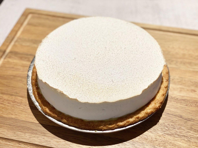 DAB Pie Night 2021 - Japanese Yuzu Curd and Salted Meringue Pie