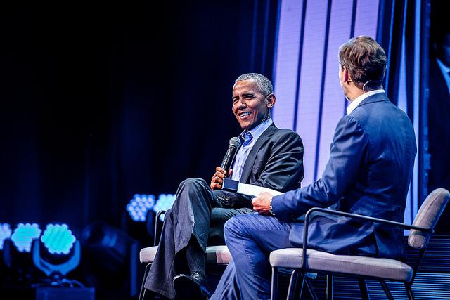 obama FORWARD THINKING LEADERSHIP