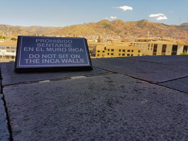 Cusco Qoricancha Yard