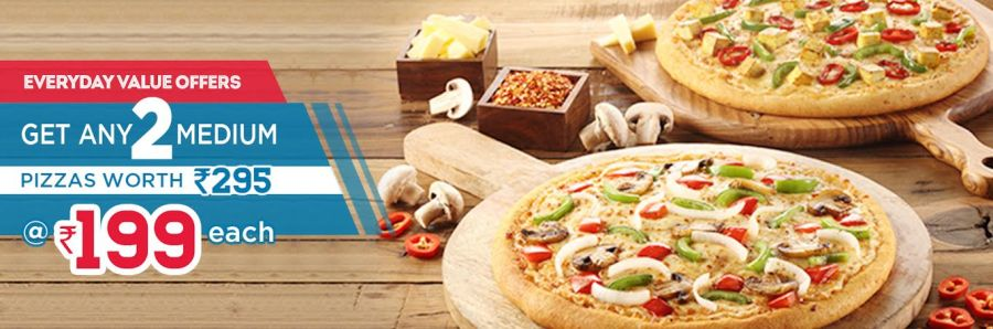 Dominoz Pizza Gwalior Offer