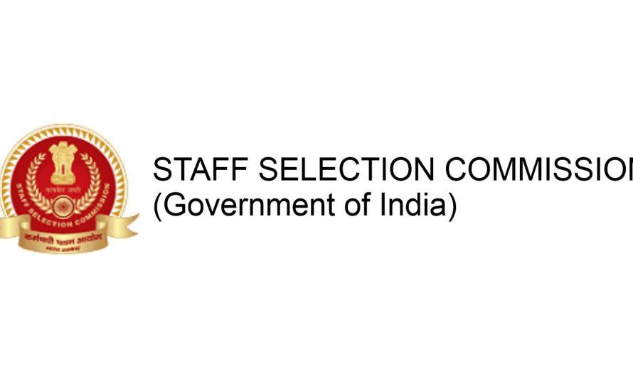 SSC Recruitment 2020 कॉन्स्टेबल पुरुष व महिला 5846 जागा