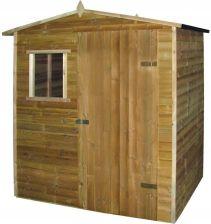 Domek gospodarczy Drewniana chatka 1,5x2 m