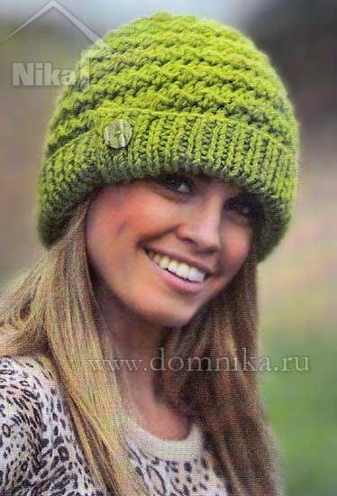 Pălării tricotate pentru femei