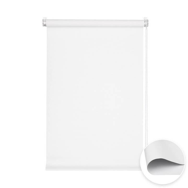 store enrouleur sans percage occultant pret a poser blanc 45 x 150 cm