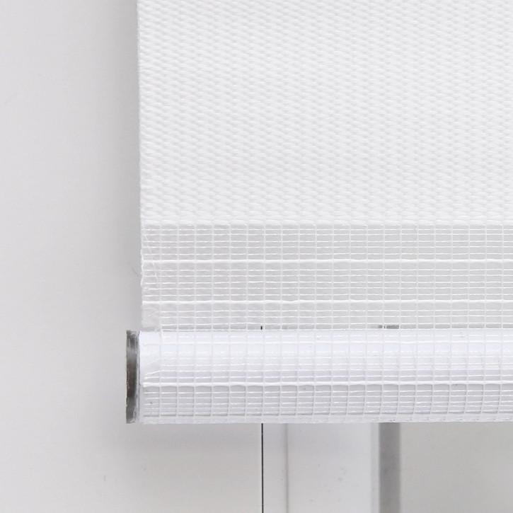 store enrouleur jour nuit sans percage pret a poser blanc 45 x 150 cm