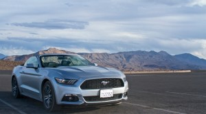 Ford Mustang - Death Valley National Park
