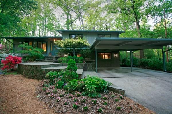 mid-century modern atlanta homes