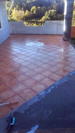 Pavimentazione terrazzo in gres porcellanato - Porcelaingres terrace paving