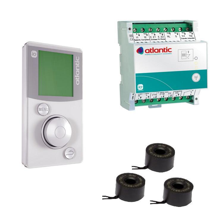 Atlantic Pack Confort Elec Io Home Control Gestionnaire D Energie Fil Pilote