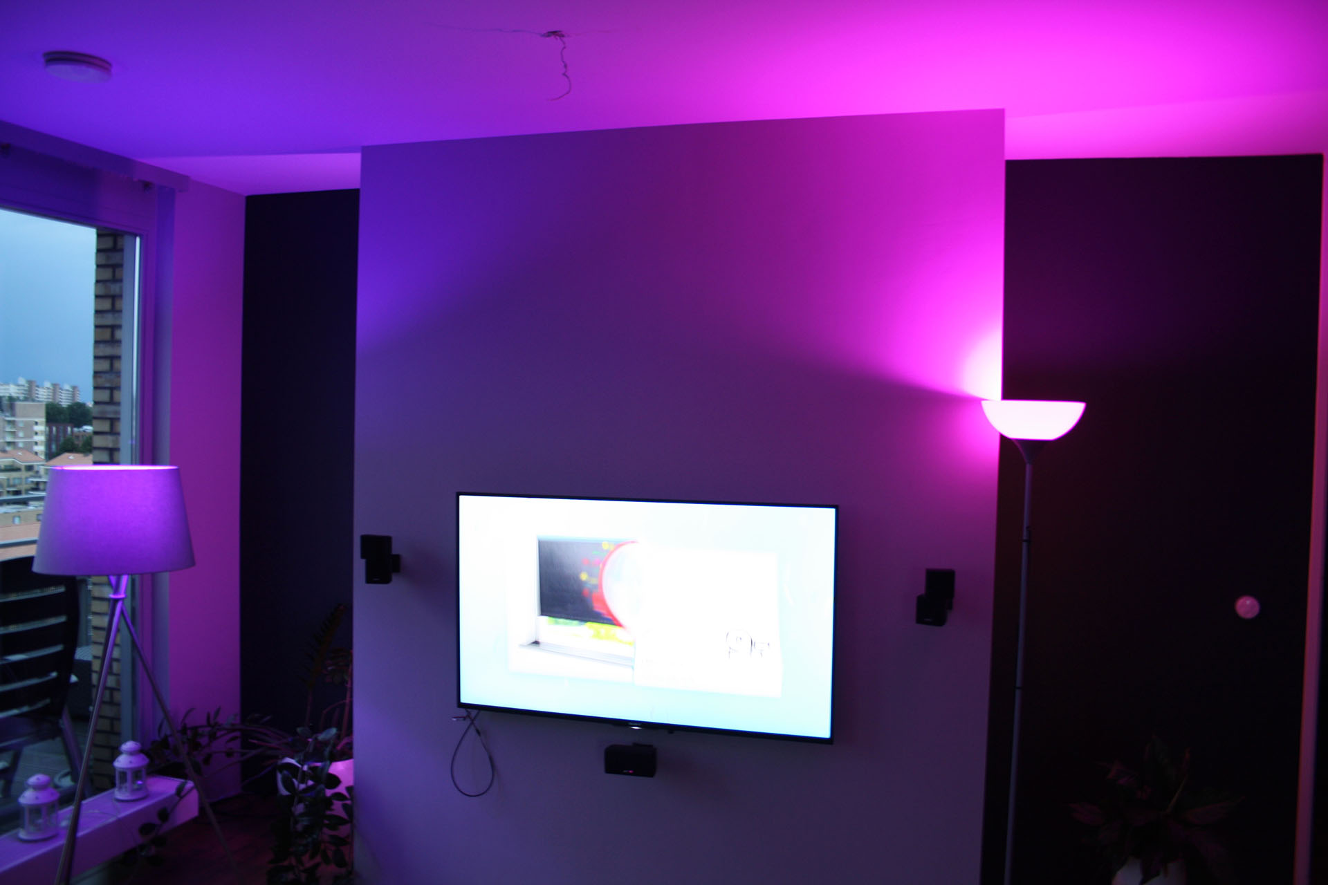 Verlichting in kleur  Philips Hue  Domotica Center