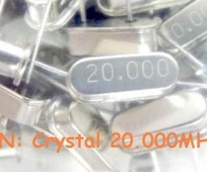15 Pezzi 20.000MHZ IC Circuiti Integrati