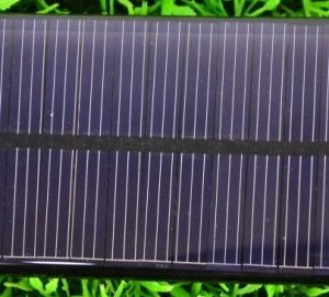 Solar panels 95 * 51 6V 55mA 0.33W