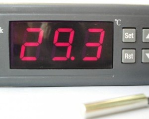 24V LCD Digitale Termostato Temperatura Controller Pulsante WH7016X delay shutdown functions