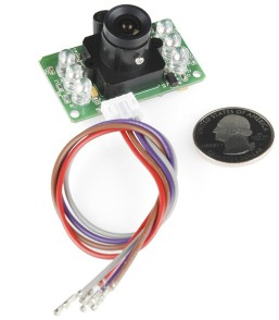 Infrarossi JPEG Color Camera Seriale UART (RS232 level)
