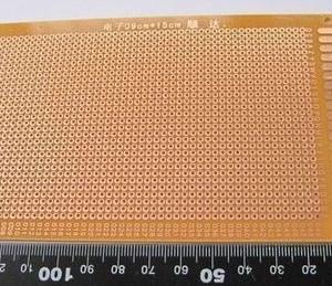 Prototipo Board Single Side 9x15