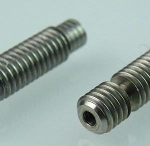 1.75mm E3D M6X26 Estrusore Pipes Screw Lined With Teflon per Stampante 3D