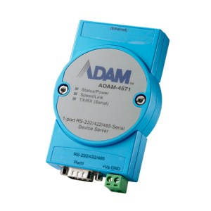 ADAM-4571 RS-232/422/485 to Internet