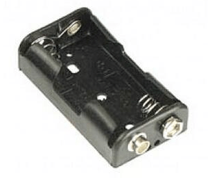 2AA 3V contenitore batterie With 9V Batteria Socket