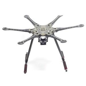 S550 Hexacopter Kit Telaio PCB bordo Centro con Carrello di Atterraggio per FPV