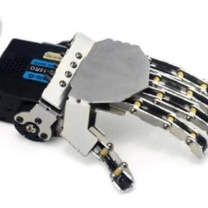 Left Robot hand-five fingers/Metal manipulator arm/Mini bionic hand/Humanoid robot arm/gripper/car accessories