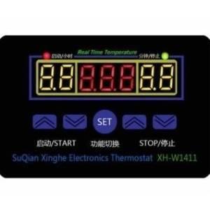 XH-W1411 Sensore di temperatura digitale termostato sensore interruttore di controllo DC 12V AC 220V 10A