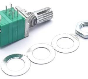 RV097GS Potenziometro doppio a 8 pin B50K con interruttore