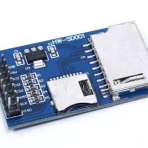 Modulo scheda SD Modulo scheda TF Micro SD Scheda di sviluppo Microcontrollore MCU SPI per Arduino / 51 / AVR / ARM