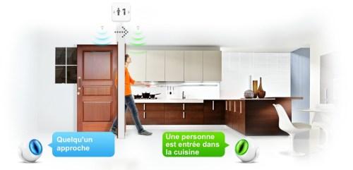 deux Fibaro Motion Sensor + un Home Center = compteur de passages