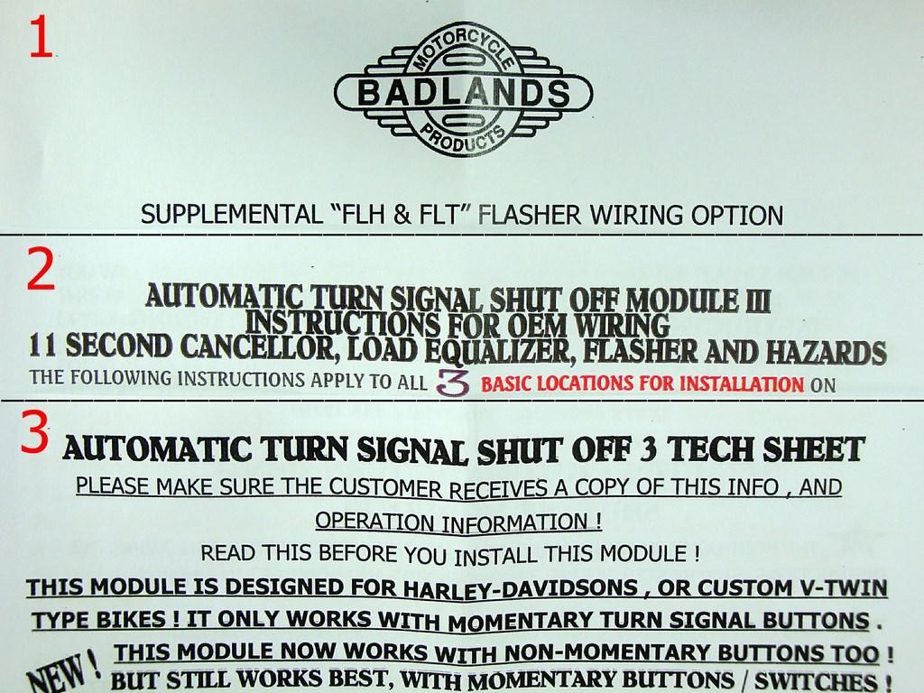 Badlands load equalizer instructions on