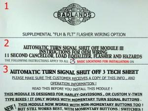 Badlands Automatic Turn Signal Shut Off Module III for