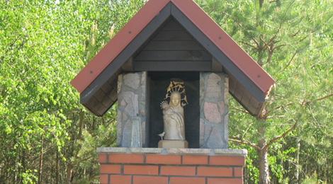 Kapliczka w Kwiekach