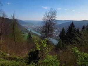 Blick über das Neckartal auf Neckargmünd