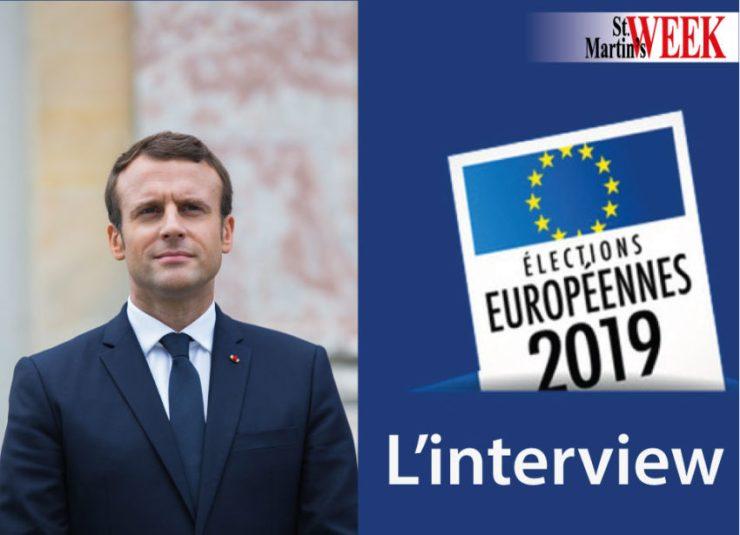 Européennes : l'interview du Président Macron