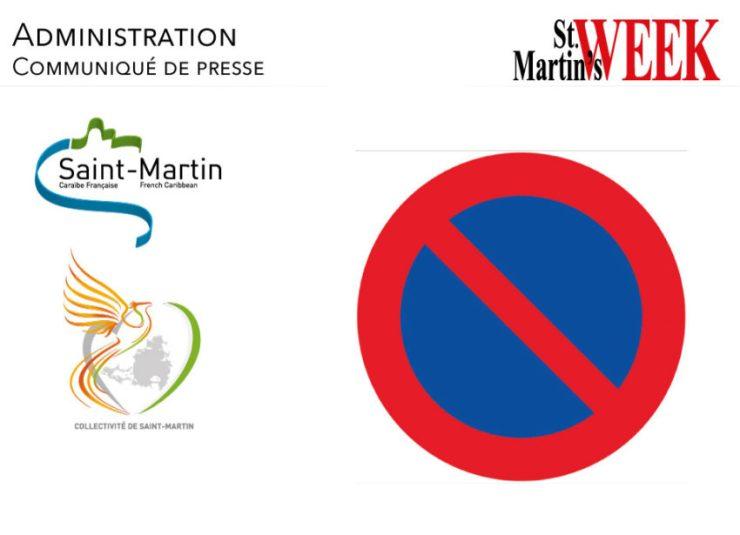 Marigot : Interdiction de stationnement