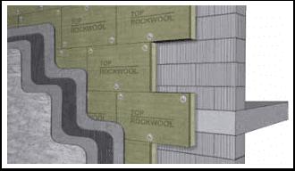 rockwool dual density vata mineral bazaltica