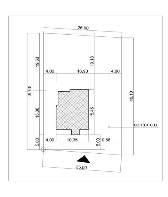 plan situatie proiect casa