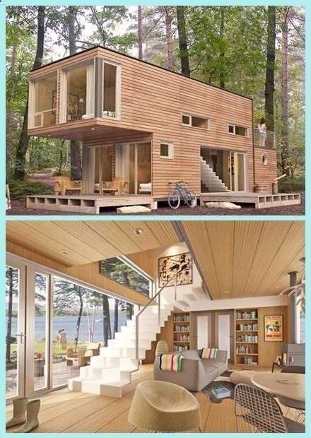 casa din containere cu etaj