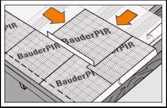 izolatie acoperis cu sistemul Bauder PIR