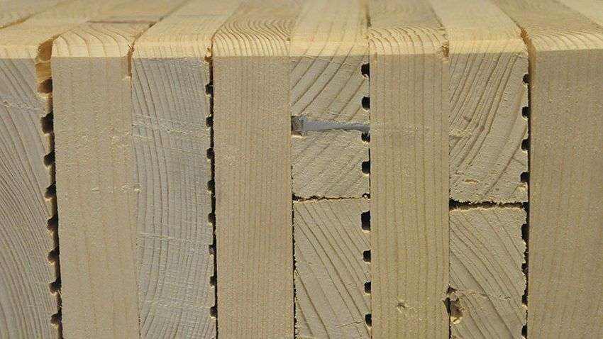 Stratificatie perete lemn masiv MHM
