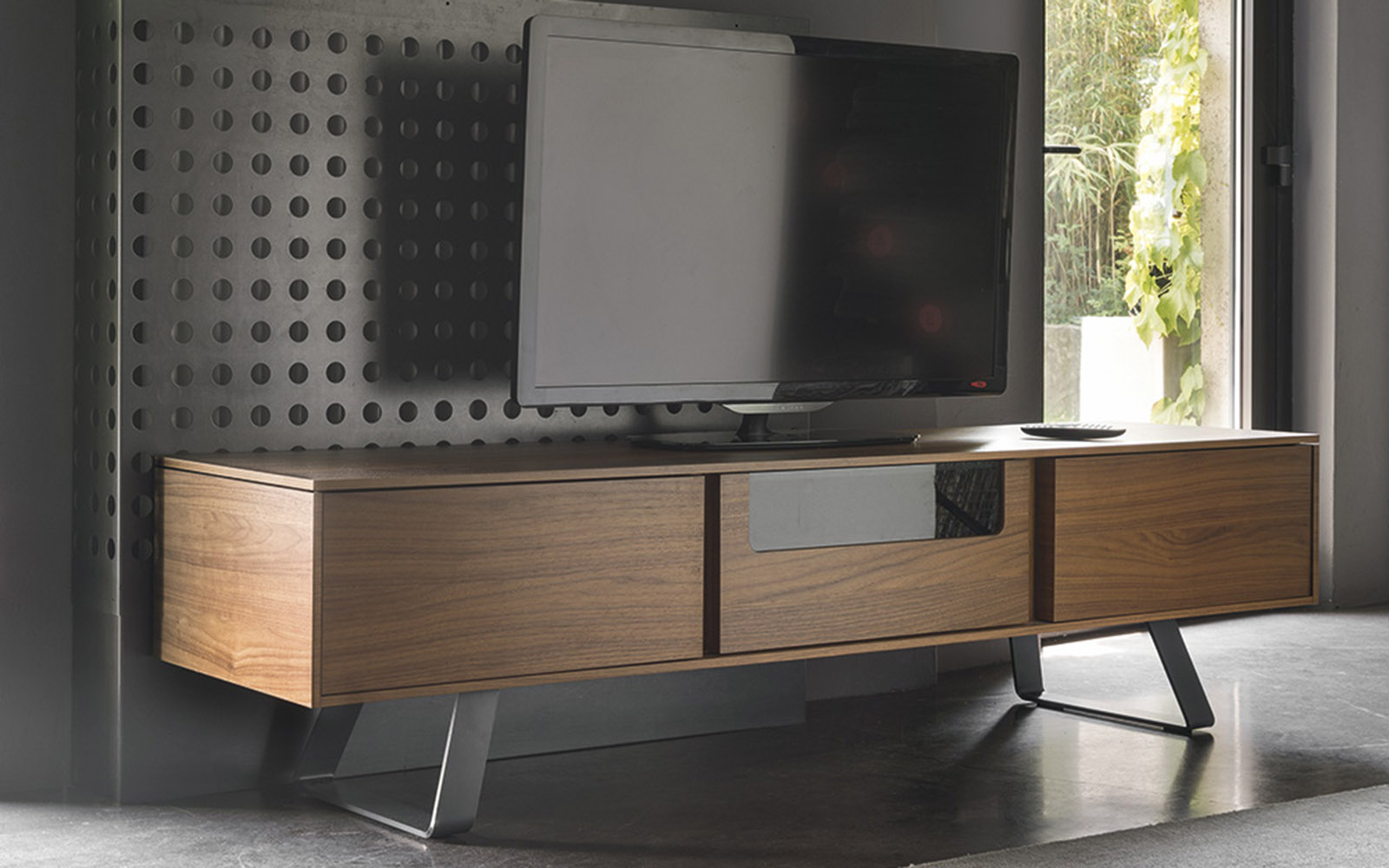 Madia porta TV Secret Calligaris
