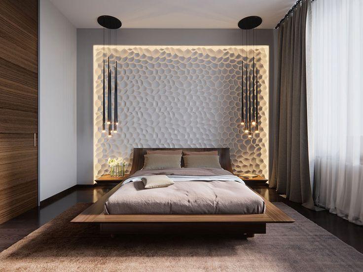 Tante idee per illuminare la camera da letto