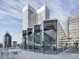 Montreal Sid Lee Architecture Designs A Modular Glass Pavilion Standing Above The City