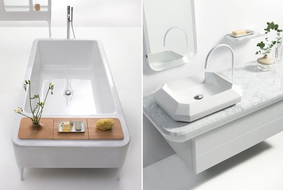 The debut of Bisazza Bagno  Domus