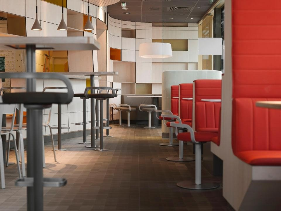 New Interior Design For McDonalds By Patrick Norguet Domus