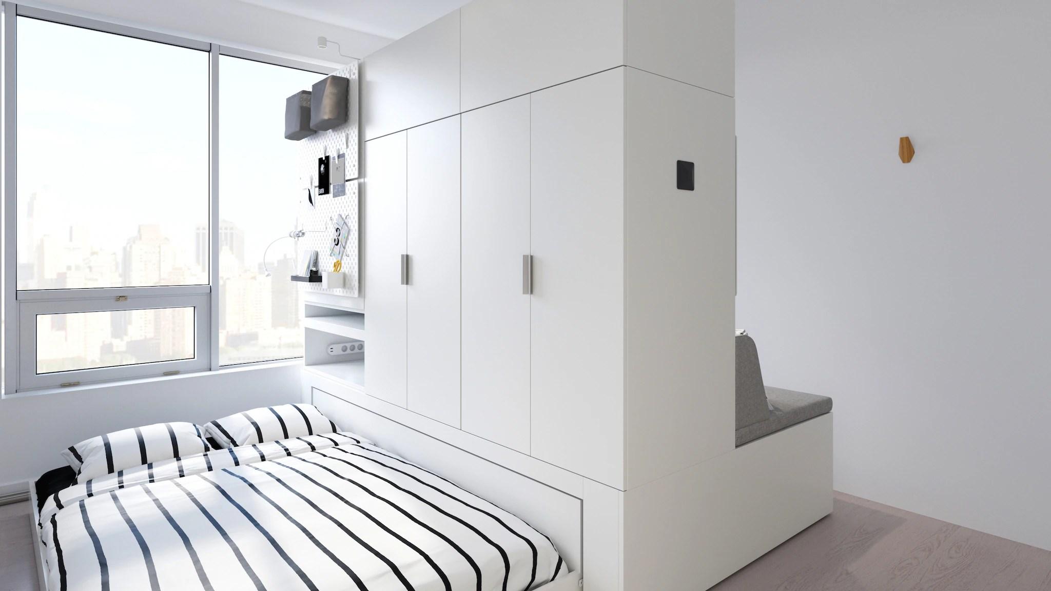 Dalle camere la letto in stile tradizionale e quelle dal design più moderno o minimal, ikea propone tantissime soluzioni diverse,. Ikea Lancera Una Linea Di Armadi Motorizzati Nel 2020 Domus