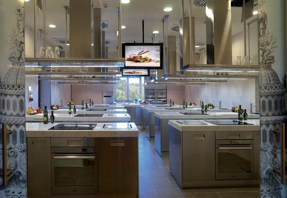 Arclinea Design Cooking School  Domus