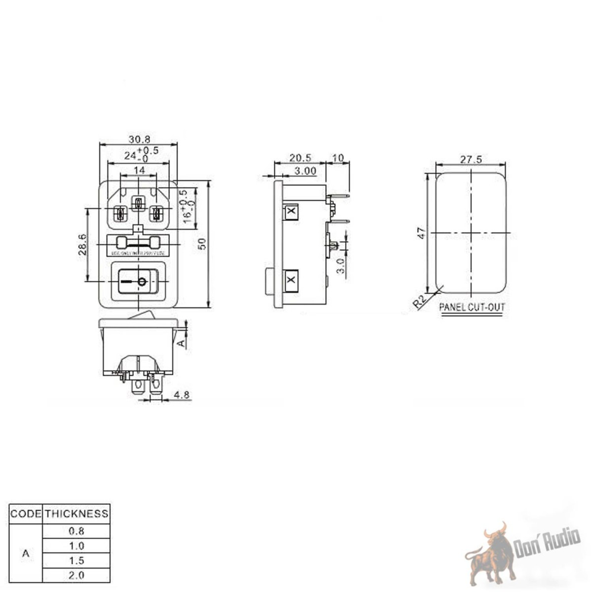 littelfuse fuse box holder