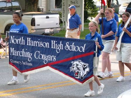 Pride for the North Harrison Marching Cougars