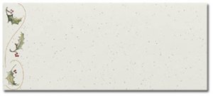 Holly Bunch -- #10 Envelopes -- 25 Pack